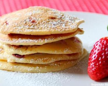 Erdbeer - Buttermilch - Pancakes *
