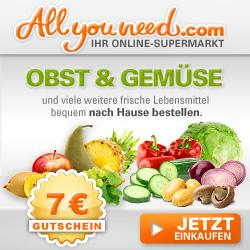 All you need - Online Supermarkt