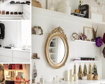 Home Inspiration - clothes closet