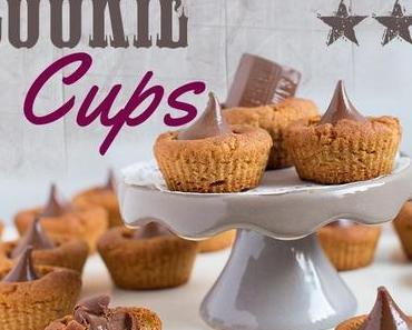 Erdnussbutter-Cookie-Cups mit Hershey's Kisses