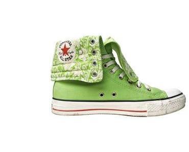 #Converse Schuhe All Star Chucks XHI 1U324 Orchid Grün