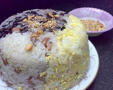Klebreis – Das traditionelle Frühstück Hanoiers