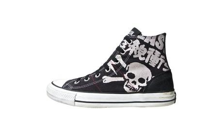 Converse Schuhe All Star Chucks 113998 The Clash UK Punk (Leder)