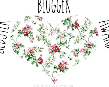  TAG  Liebster Blogger Award