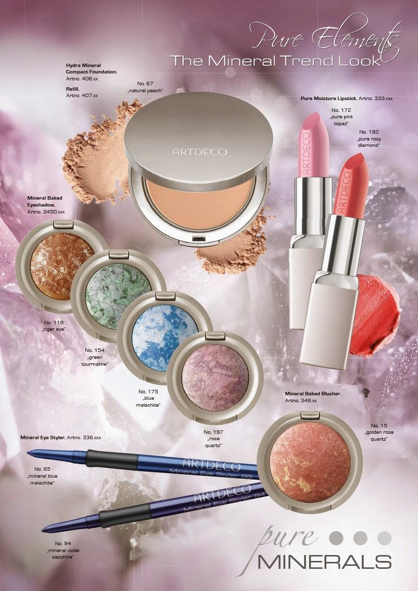 Preview: Artdeco - Pure Elements & Misslyn - Ultimate Stay Make Up Kollektion