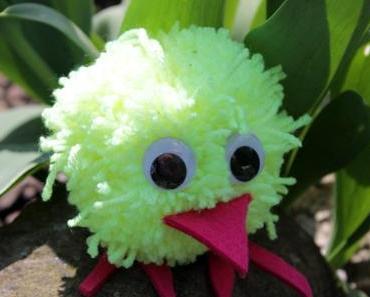 DIY: Last-Minute-Ostergeschenk für die Kleinen – das Pompom-Küken