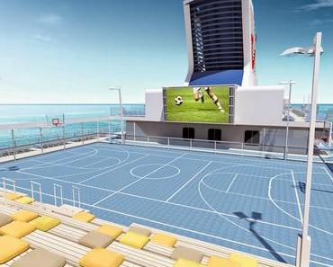 Mein Schiff Gäste bleiben am Ball. Fußball-Weltmeisterschaft mit prominenten Experten auf hoher See erleben