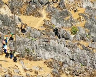 Ha Giang – Auf dem Felsen blühen die Blumen