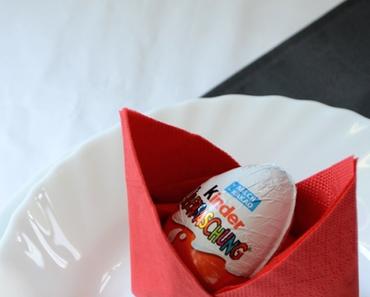 DIY zu Ostern – Serviettenfalttechnik alias Tischdeko