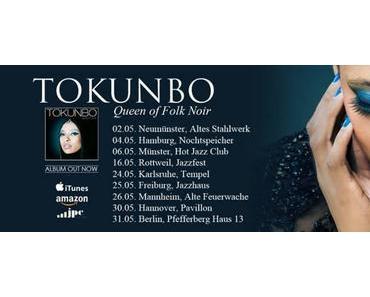 TOKUNBO – die Queen of Folk Noir und ihr Debütalbum