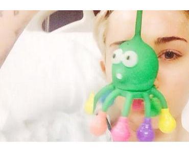 Miley Cyrus im Krankenhaus
