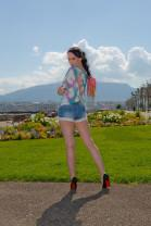 Modeblog Update – Hotpants und Pumps am Genfer See
