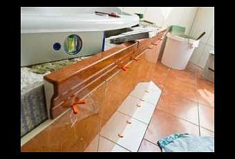diy badewanne einbauen. Black Bedroom Furniture Sets. Home Design Ideas