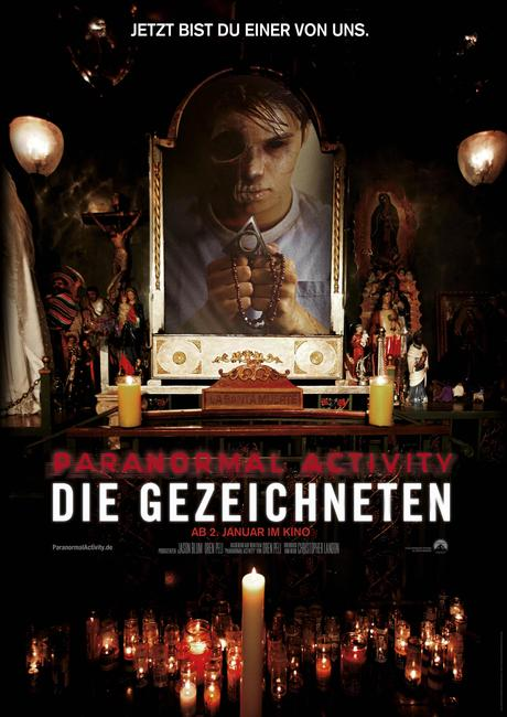 Review: PARANORMAL ACTIVITY: DIE GEZEICHNETEN – Warm Up für  Phase fünf