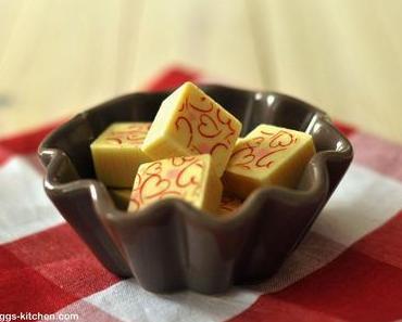 2x Sandra und 4x Pralinen - heute: Mango-Joghurt-Praline