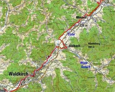 Jakobsweg: Elzach – Buchholz