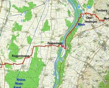 Jakobsweg: Munzingen – Ensisheim
