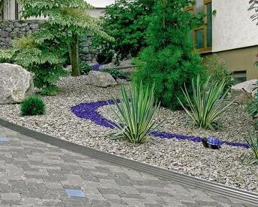 Gartenprofile schaffen klare Linien und schöne Formen
