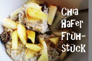 Chia-Hafer-Frühstück