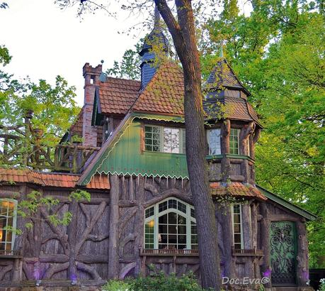 Wo wohnt die hexe - Hexen gartenhaus ...