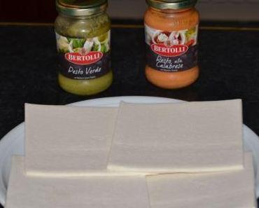Erna kocht: Schneller Snack mit Blätterteig und Pesto