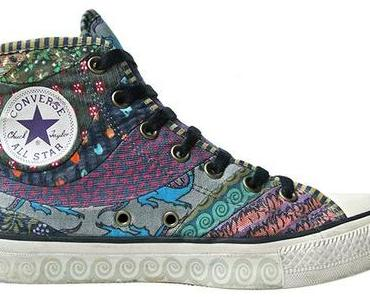 #Converse Schuhe All Star Chucks 102966 Patchwork Hippie Design