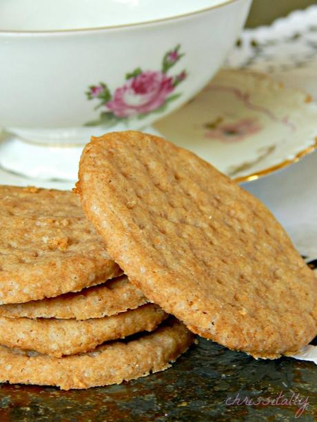 ABC: Digestive Cookies / Teddy Vollkornbutterkekse