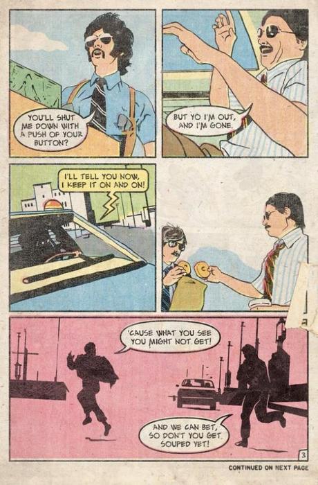 саботаж комикс