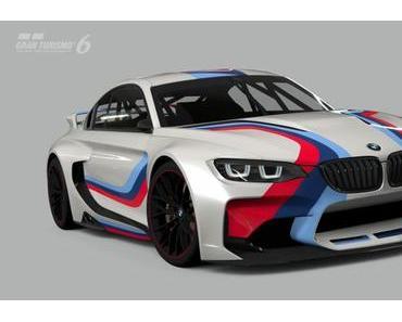 """Konzeptstudie """"BMW Vision Gran Turismo"""" exklusiv in Gran Turismo  6 für PlayStation®3 erleben"""