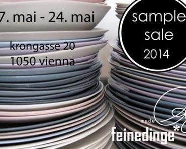 Wohin in Wien!  Sample Sales – Schnäppchen Shopping in Wien 16. – 18.5.2014