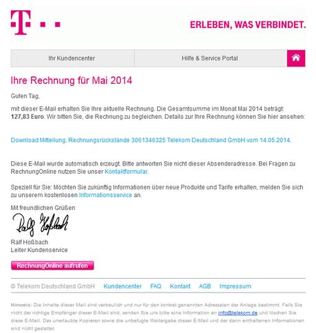 Achtung Spam In Der Inbox Falsche Rechnungen Per E Mail Von