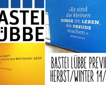 |Unterwegs| Die Bastei Lübbe Preview Herbst/Winter 2014/2015: Auf dem Weg & Die Verlagsführung #1