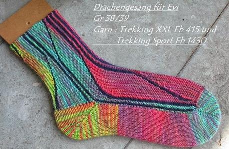 Swing socken stricken