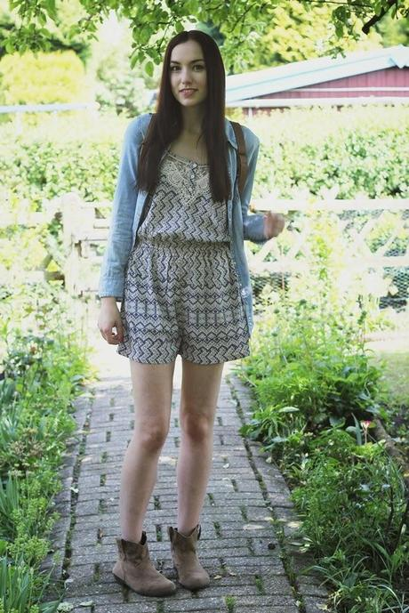 OOTD: Playsuit Time!