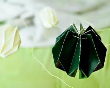 Origami-Anhänger + Druckvorlage