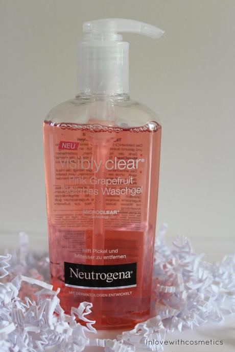 neutrogena visibly clear pink grapefruit gesichtsreinigung. Black Bedroom Furniture Sets. Home Design Ideas