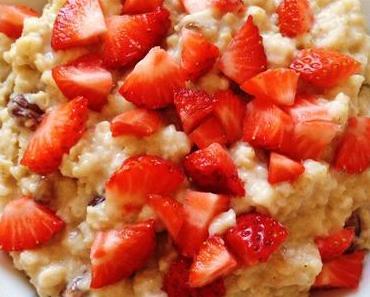 Sommerliches Porridge