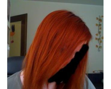 Endlich rote Haare die auch halten. Goldwell Elumen