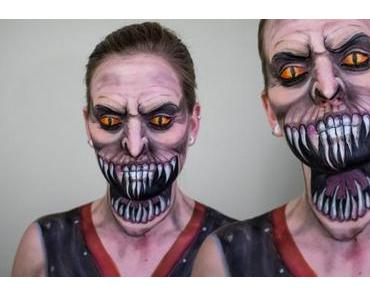 Mortal Kombat Makeup von Elsa Rhae