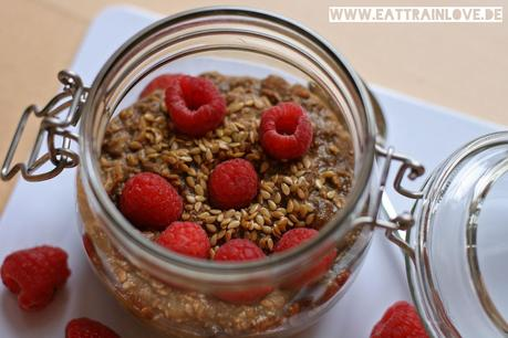 Clean-Eating-Oatmeal-Himbeere