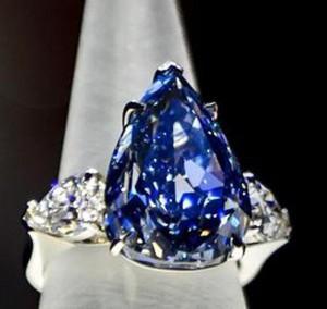 Blauer Diamant für 17 Millionen Euro