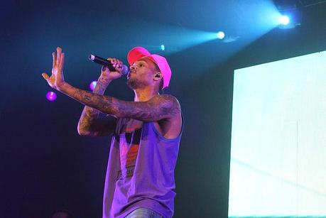 Chris Brown in Sydney 2012