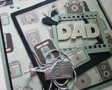 Vatertagsgeschenk und passende Karte