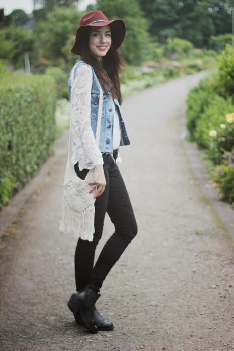 OOTD: Lace Shirt