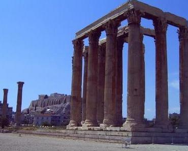 das Olympieion in Athen