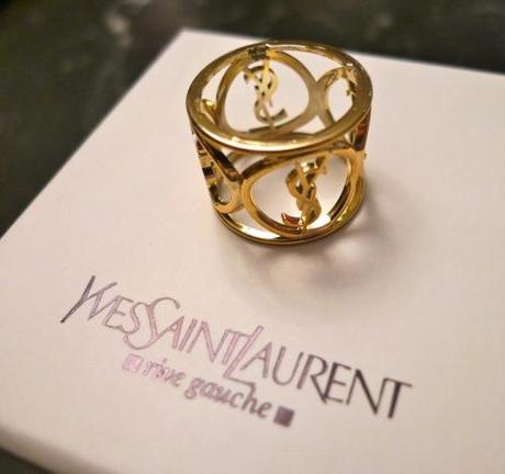 Do you like my new YSL ring?