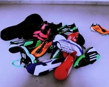 Adidas gibt Rätsel auf