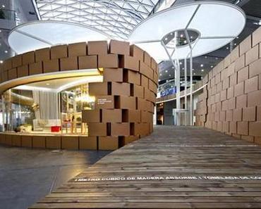 """""""Living Nature"""" – der Karton Pavilion"""
