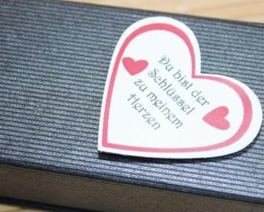 Du bist der Schlüssel zu meinem Herzen ..............