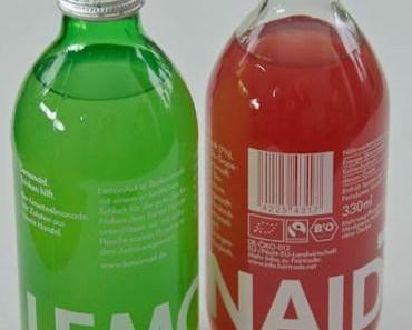 Durst und eine kleine Erfrischung gefällig? – Lemonaid und ChariTea helfen!